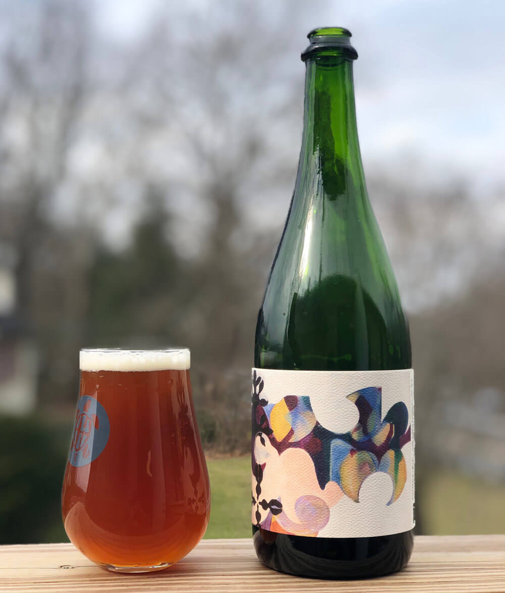 photo of Karen's Wild Ales collaboration with Hidden River Brewing
